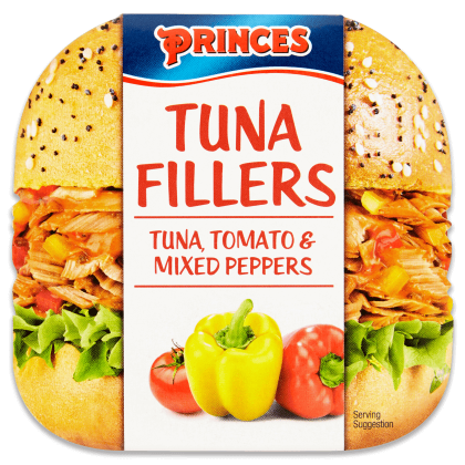 Tuna Fillers - Tomato And Mixed Peppers